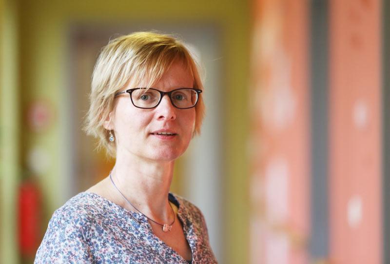 Annett Ledwa, Koordinatorin Hospizdienst des Klinikum Süd Rostock Südstadt
