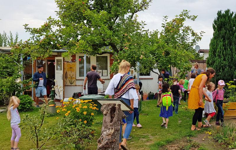 In unserem Gemeinschafts-Erlebnisgarten KGV Rostock Südstadt