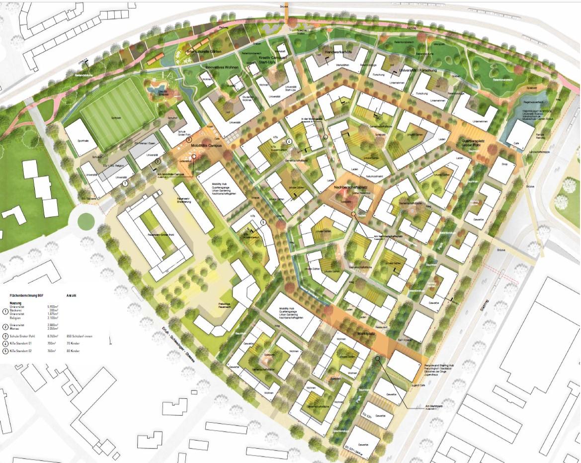 Planungsentwurf von HaasCookZemmrich Studio2050 aus Stuttgart